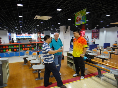 Jerry Norris 2012 Coaching Bowling in China